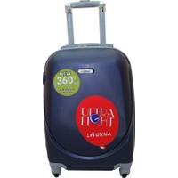 Laguna 2022-0 Pvc Lacivert Büyük Boy Valiz Bavul
