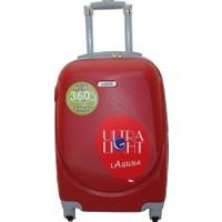 Laguna 2022-0 Pvc Kırmızı Büyük Boy Valiz Bavul