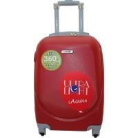 Laguna 2022-0 Pvc Kırmızı Orta Boy Valiz Bavul