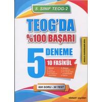 Element Yayınları 8. Sınıf Teog 2- Teog'Da %100 Başarı 5 Deneme 10 Fasikül Set