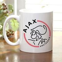 Adell Foto Ajax Taraftar Beyaz Kupa Bardak