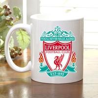 Adell Foto Liverpool Taraftar Beyaz Kupa Bardak