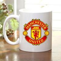 Adell Foto Manchester United Taraftar Beyaz Kupa Bardak