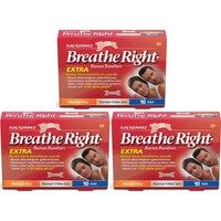 Breathe Right Extra Burun Bandı 3'lü Paket