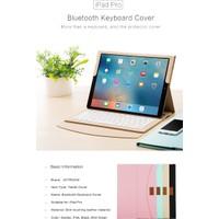 Joyroom Apple İpad Pro 12.9'' Bluetooth Klavyeli Mıknatıslı Smart Kılıf Gold