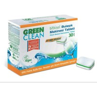 U Green Clean Organik Bulaşık Makinası Tableti