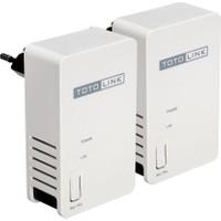 Totolınk 1Port 200Mbps ~300Metre Pl200Kit Wlan (Kablosuz) 200Mbps Homeplug (Elektrik Adaptörü)