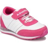 Kinetix Nela Beyaz Fuşya Kız Çocuk Sneaker Ayakkabı