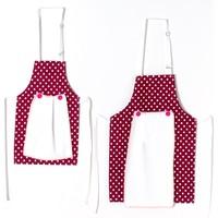 Nefnef Home 4 Lü Anne Kız Mutfak Önlüğü Set