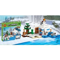 Minecraft The Snow Hideout Lele Lego