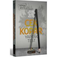 Beyaz Kalem Yayınları 2017 Kpss Genel Yetenek Genel Kültür Çek Kopar Yaprak Test