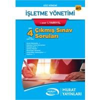 Murat Yayınları 2. Sınıf 3. Yarıyıl İşletme Yönetimi Çıkmış Sınav Soruları (Kod 8033)