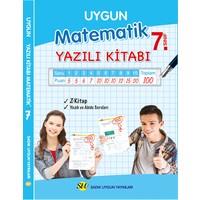 Sadık Uygun Yayınları 7.Sınıf Matematik Yazılı Kitabı