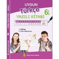 Sadık Uygun Yayınları 6.Sınıf Türkçe Yazılı Kitabı