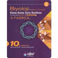 Uğur Yayınları 10. Sınıf Biyoloji Kazanım Temelli Konu Konu Soru Bankası