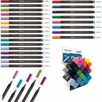 Gıpta 0.4 Mm Üçgen Fineliner Kalem 24 Renk 576 Lı Stand