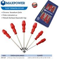 Maxpower 6 Parçalı Yıldız Tornavida Seti