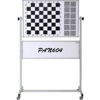 Garanti 110X100 Mobil Ayaklı Manyetik Satranç Eğitim ( Panosu ) Tahtası