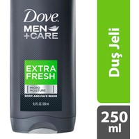 Dove Men Duş Jeli Extra Fresh 250 ml