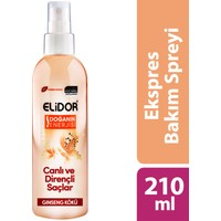 Elidor Express Saç Bakım Spreyi Canlı Ve Dirençli Saçlar 210 ml