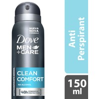 Dove Men Deodorant Sprey Clean Comfort 150 ml