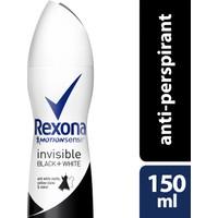 Rexona Women Deodorant Sprey Invısıble Black + White 150 ml