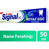 Signal Diş Macunu Beyaz Güç Nane Ferahlığı 50 ml