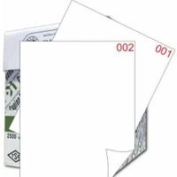 Eren A4 Numaralı Kağıt 1-4000 / 80 Gr