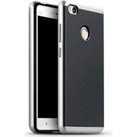 Case 4U Xiaomi Mi 4S Hybrid Korumalı İnce Arka Kapak Gümüş