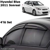 Kgn Cam Rüzgarlığı Mugen Hyundai Accent Blue