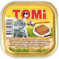 Tomi Alüminyum Paket Kaz Ciğerli Ve Kanatlı H. Kedi Konserve 100 Gr