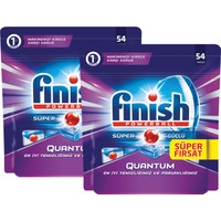 Finish Quantum Bulaşık Makinesi (54x2) 108 Tablet