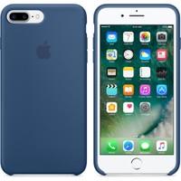 Apple iPhone 7 Plus / 8 Plus Orjinal Silikon Kılıf Okyanus Mavisi (İthalatçı Garantili)