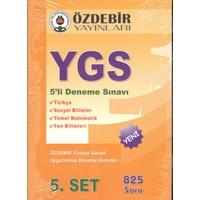 Özdebir YGS 5' li Deneme Seti
