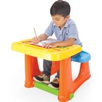 Dolu Smart Çalışma Masası - Sarı