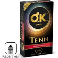 Okey Tenn Non-Lateks Kabartmalı 8'li Prezervatif