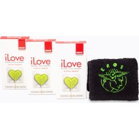 Eros iLove Normal Prezervatif 3 Paket ve 1 adet Eros El Havlusu Hediye