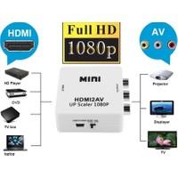 Alfais AL-4552 HDMI To RCA AV 1080P Destekli Çevirici Dönüştürücü Adaptör