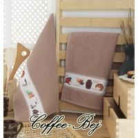 Maxstyle Mutfak Havlusu 2'li 40 x 60 Cm - Coffee-Bej