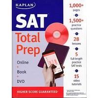 Kaplan Sat: Total Prep (Online + Book + Dvd)