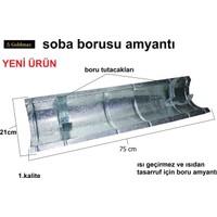 Goldmax Isı Kes Soba Borusu Amyantı Tavan Isı Koruyucu 75Cm