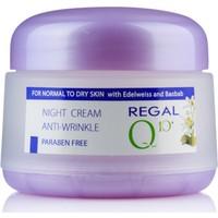 Regal Q10 Serisi Kırışıklık Karşıtı Gece Bakım Kremi 50 Ml Normal Ve Kuru Ciltler İçin
