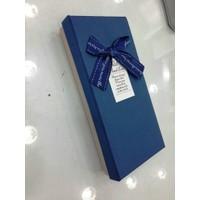 Aydindecor Küçük Fiyonklu Mavi Hediye Kutusu