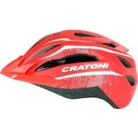 Cratoni C-Smart Mat Kırmızı 54Cm-59Cm
