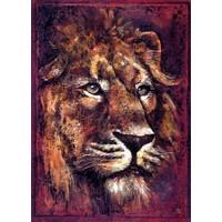 Art Stones African Lion Pane
