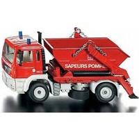 Siku 1:55 Fire Skip Lorry