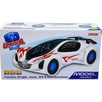 Can Oyuncak Sesli Işıklı Çarp Dön 3D Araba 9085