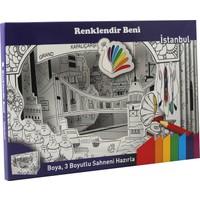Renklendir Beni 3 Boyutlu Boyama Sahnesi - İstanbul Modeli