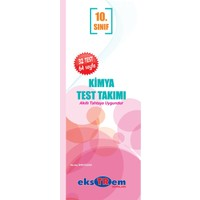 Ekstrem Yayınları 10.Sınıf Kimya Çek Kopar Yaprak Test Takımı