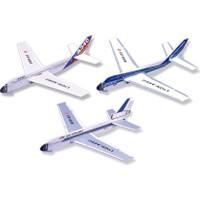 Lyonaeec Yolcu Uçağı Mini Seri Set (3 Adet) Serbest Model Uçak